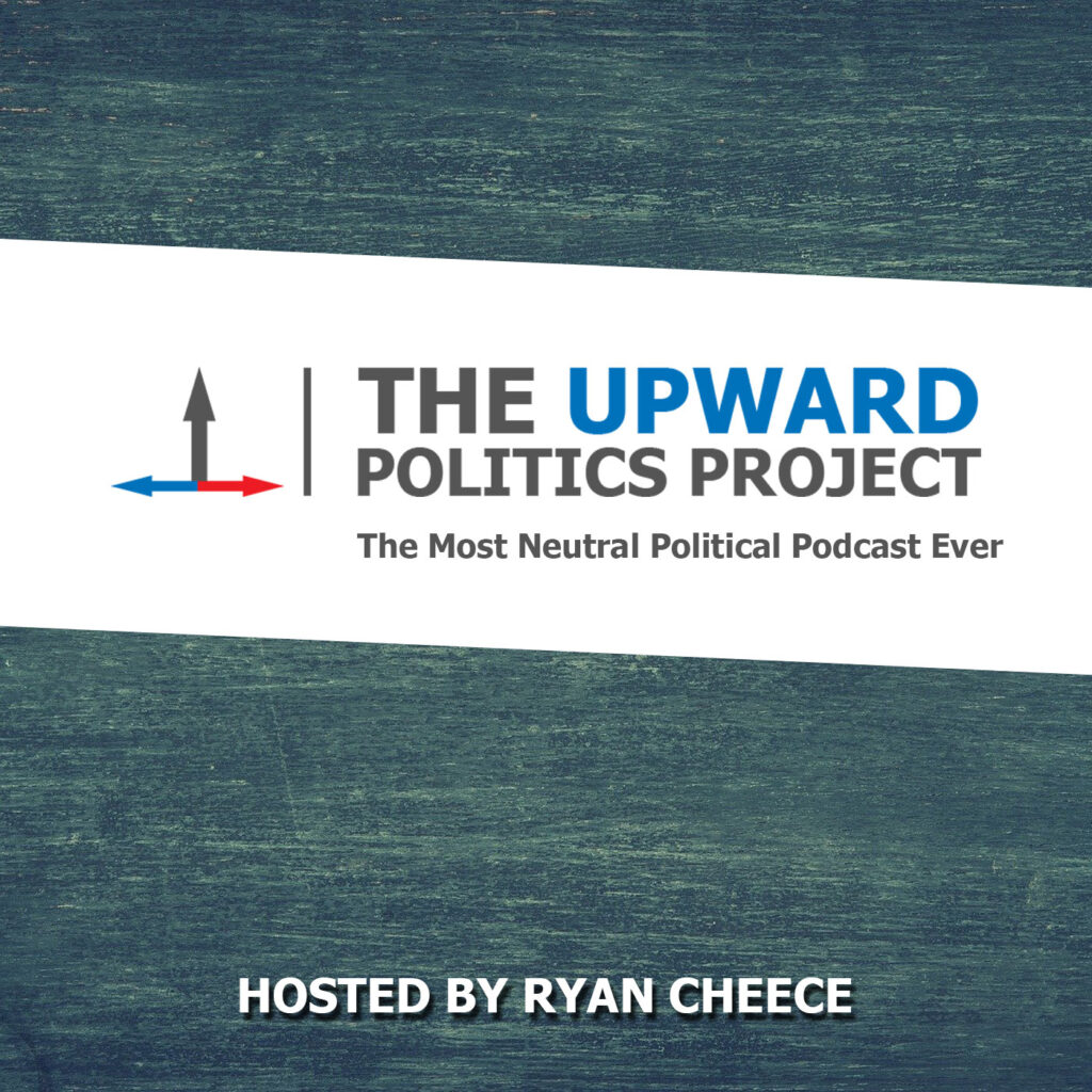 podcast artwork for the upward politics project